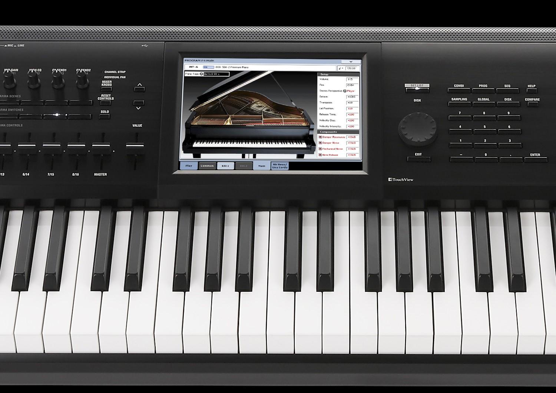 RH-3ウェイテッド鍵盤