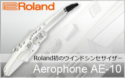 Ralano初のウインドシンセサイザー・ Roland / Aerophone AE-10
