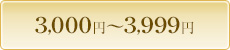 3,000円〜4,000円