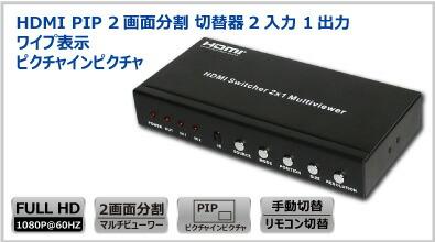 HDMI PIPマルチビューワー