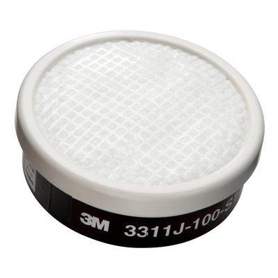 3M(スリーエム) 有機ガス用吸収缶 防じん機能付き [3311J-100-S1]