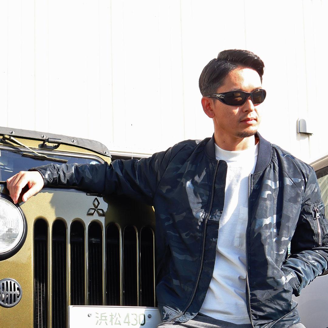タウンユースでもOKな軽量防寒G7111 防寒フライトジャケット GLADIATOR(グラディエーター)作業服・作業着