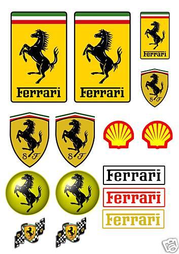 車のステッカー,シール,パッチ,ワッペン,イタリアのお土産
