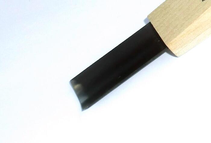 三木章刃物本舗パワーグリップ彫刻刀 浅丸型 15mm「趣味生活雑貨セレクトショップ」I-Land<アイランド>