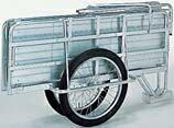 昭和 アルミ製折りたたみリヤカー マルチキャリー SMC-2 「趣味生活雑貨セレクトショップ」 I-Land <アイランド>