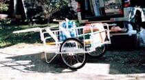 昭和 アルミ製折りたたみリヤカー マルチキャリー 「趣味生活雑貨セレクトショップ」 I-Land <アイランド>