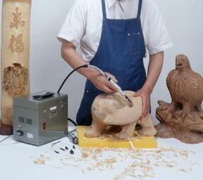 東京オートマック 電動木彫機 ニュー・ウッドカーバ WCS-100型 「趣味生活雑貨セレクトショップ」 I-Land <アイランド>