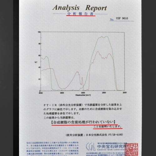 翡翠分析表