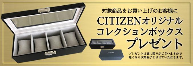 CITIZENコレクションボックスプレゼント