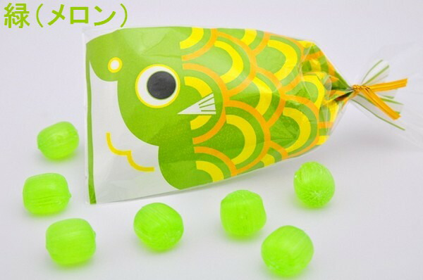 プチ京鯉のぼり 緑(メロン)