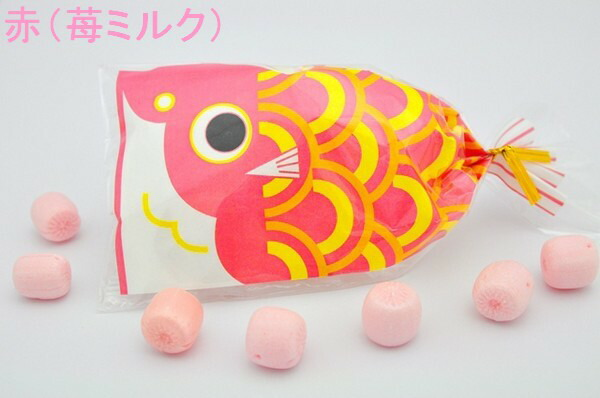 プチ京鯉のぼり 赤(苺ミルク)