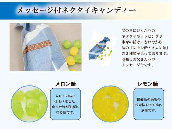 メロン飴とレモン飴