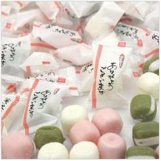 「ありがとう」キャンディ☆抹茶ミルク・ミルク・苺みるく 1kgパック