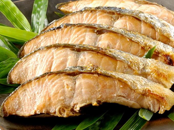 新巻鮭 焼き魚に