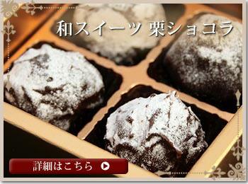 スイーツ栗チョコレート