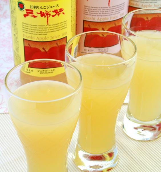 JA江刺りんごジュース三姉妹1Lボトル×3本(ギフト箱入)