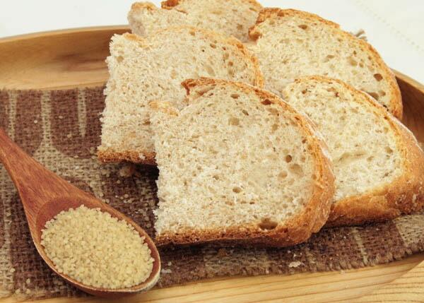体に優しいヒエのパン