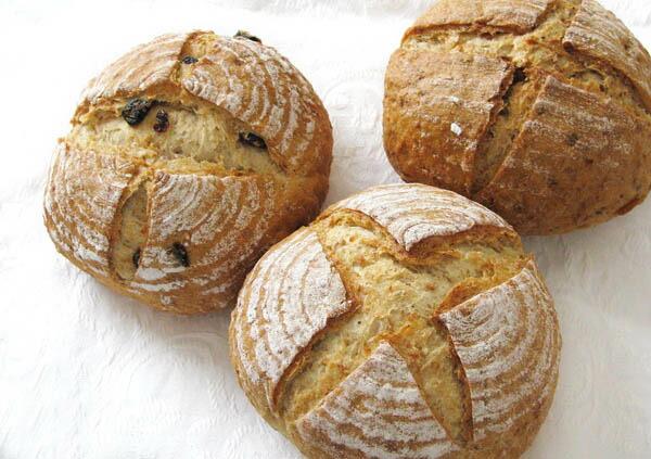 冷凍保存できるパン