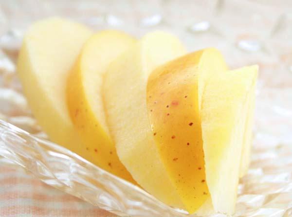 蜜入りシナノ盛り付け例 大柳果樹園