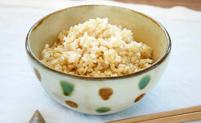 玄米炊きたてイメージ