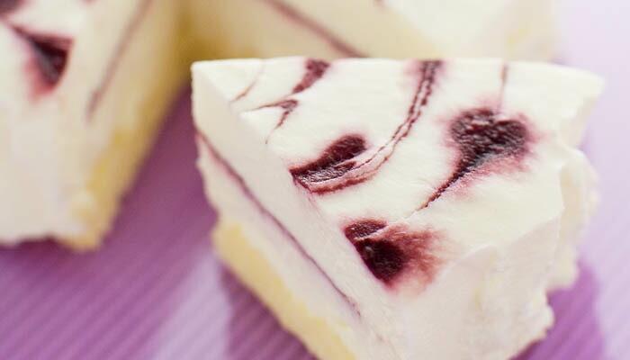 ふわふわレアチーズケーキ