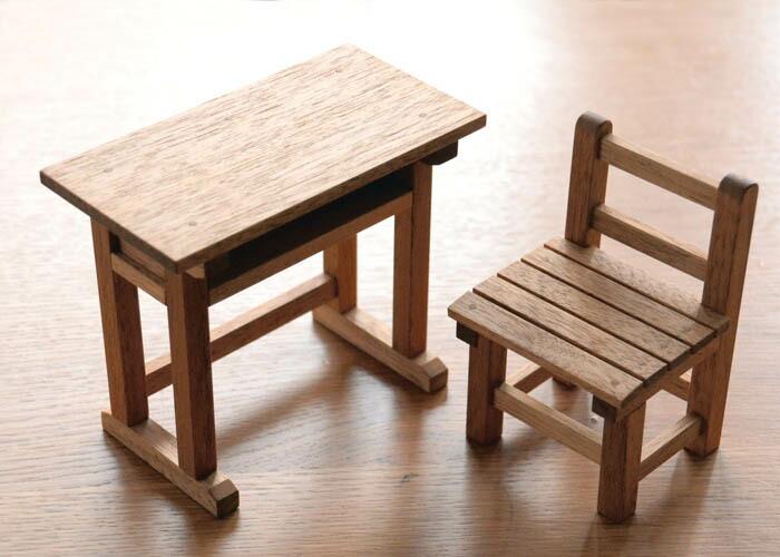 木製ミニチュア家具