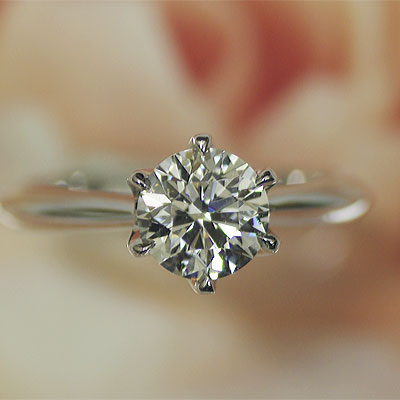 J Kimura The Small Nail Which Charms Diamond Engage Ring