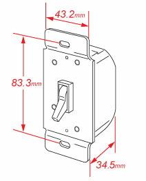 陶器スイッチ 輸入建材  通販 アメリカン調光スイッチ/TI061