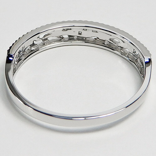 Platinum (Pt950) diamond ring (D 0 01ct/SI/ watermarks /4 moon stone amulet  for an easy delivery) *