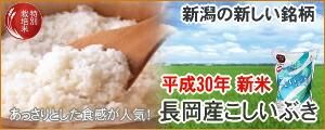 新潟産こしいぶき特別栽培米
