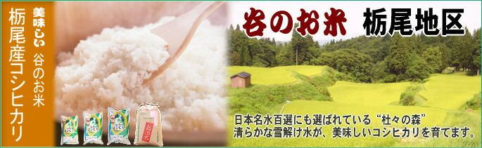 【谷のお米】栃尾産コシヒカリ