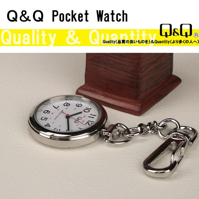 シチズン Q&Q 懐中時計 ポケットウォッチ シチズンQQ QA72-204 画像2