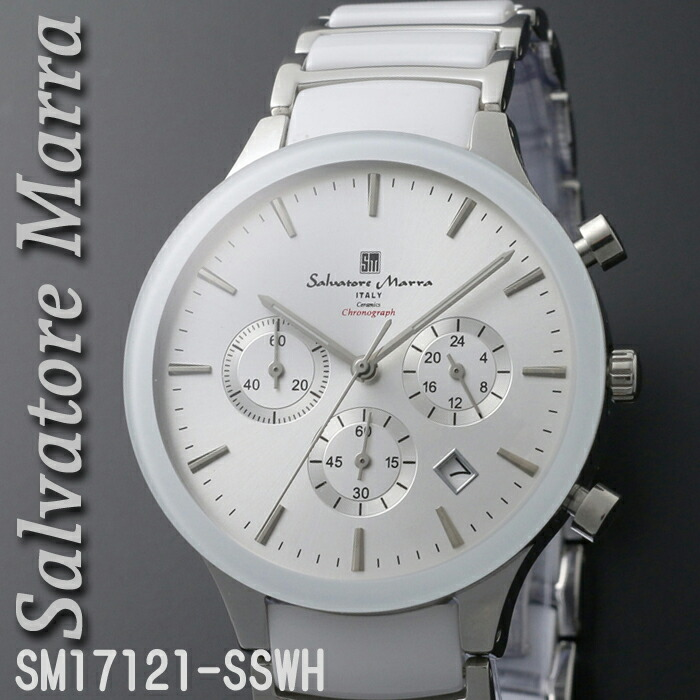 f4d715e09e4a42 送料無料 腕時計メンズ 【Salvatore Marra】サルバトーレマーラ SM17121-PGBK画像1