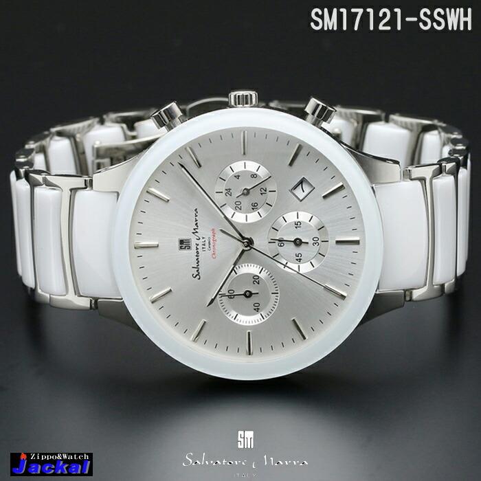 c8e80b4a71a479 送料無料 腕時計メンズ 【Salvatore Marra】サルバトーレマーラ SM17121-SSWH画像2