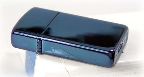 >【ジッポ】ZIPPO青色サファイアジッポスリム画像2