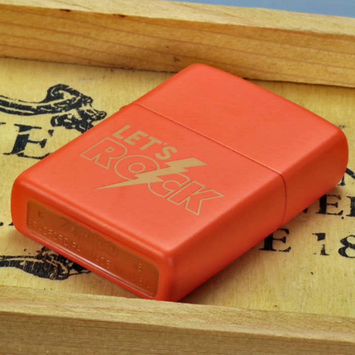 ZIPPO/Zippo Price Fighter2019  #29925 Orange Matte画像4