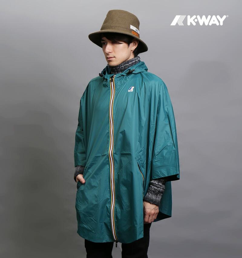 K・WAY/ケーウェイ LE VRAI3.0 MORGAN レインポンチョ