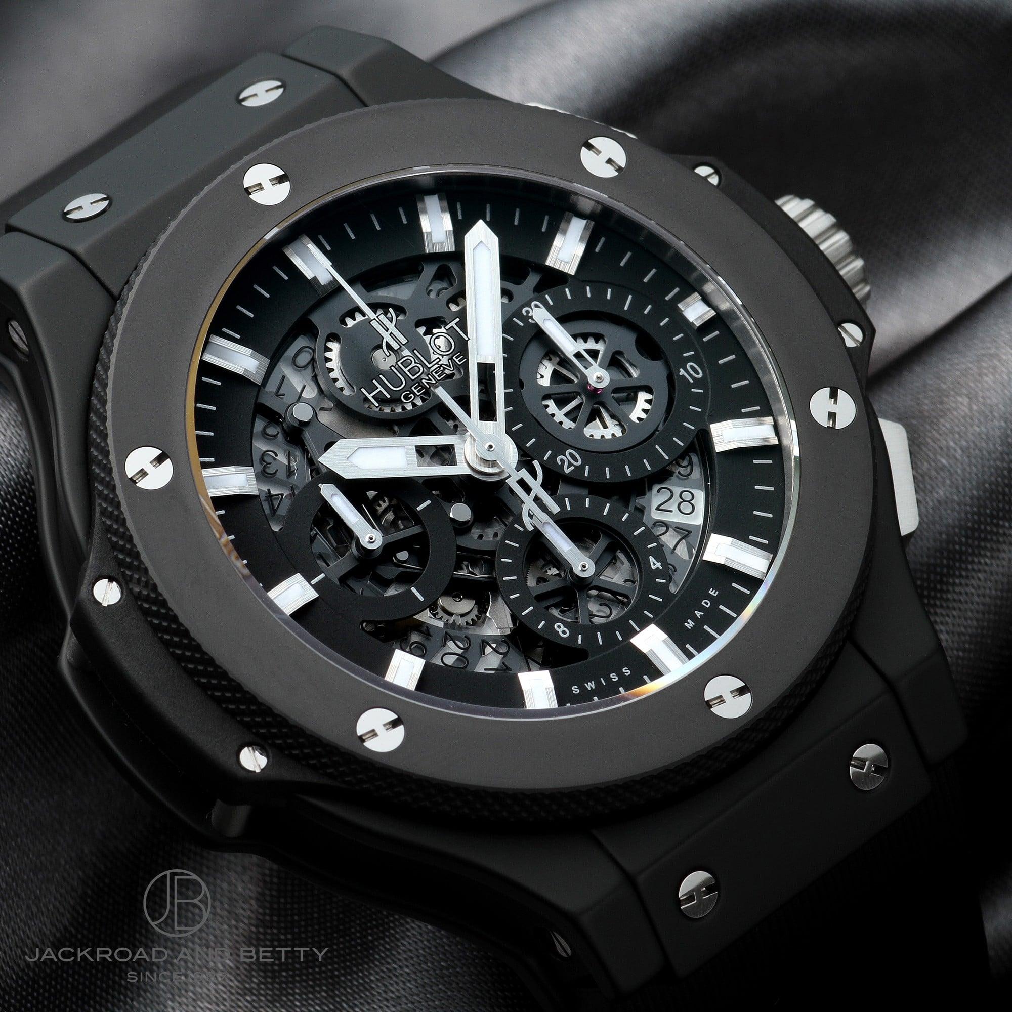super popular 61549 e9580 ウブロ HUBLOT ビッグバン アエロバン ブラックマジック 311.CI.1170.RX 新品 時計 メンズ|ジャックロード 【腕時計専門店】