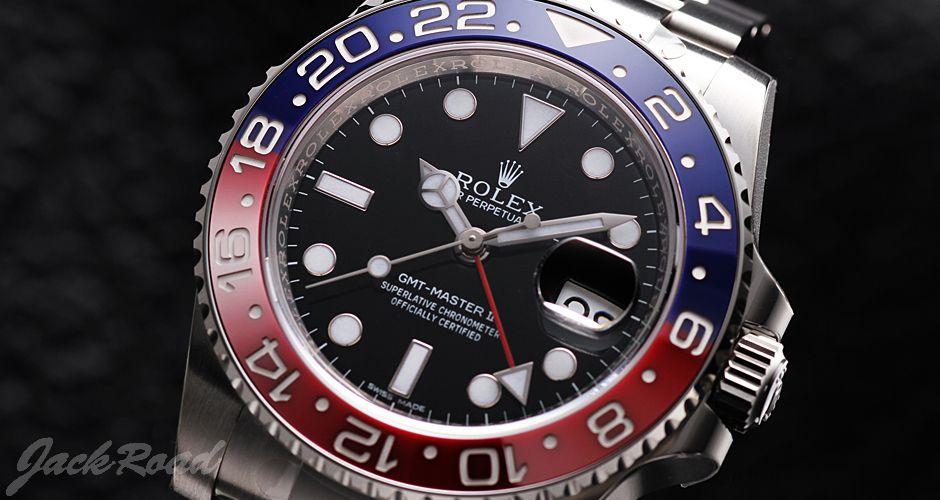 ロレックス ROLEX GMTマスターII  (GMT-Master II / Ref.116719BLRO)
