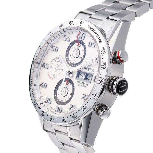 1aec363ec7c4 Tag Heuer TAG HEUER Carrera tachymeter chronograph day-Date Watch  Ref.CV2A11.BA0796