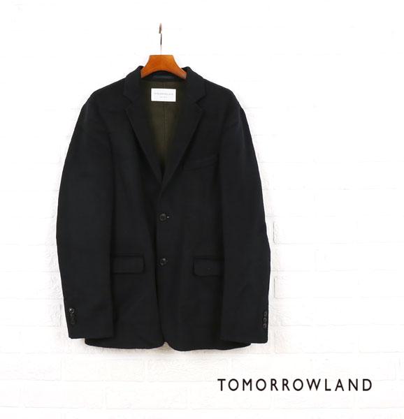 TOMORROWLAND(トゥモローランド) ウール DOUBLEFACE テーラードジャケット・63-07-64-07108  #TOMORROWLAND