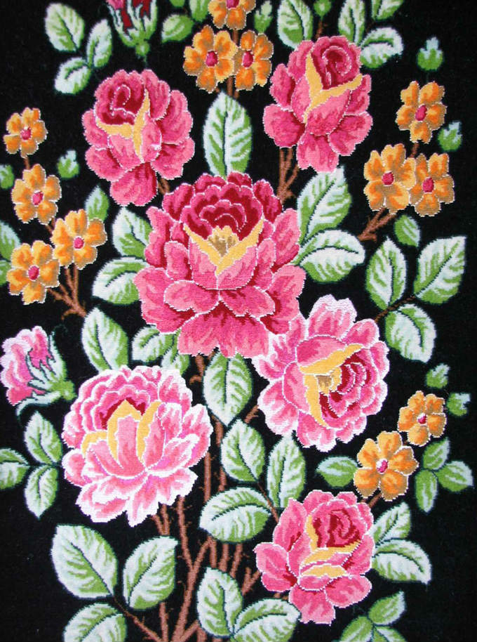 【額入りペルシャ絨毯】 【芸術品】 コルク&シルク 手織り ペルシャ絨毯 イラン タブリーズ産 (額付) 【送料無料】