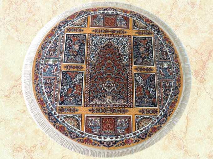 JAHAN『ウィルトン織りペルシャ絨毯 円形』