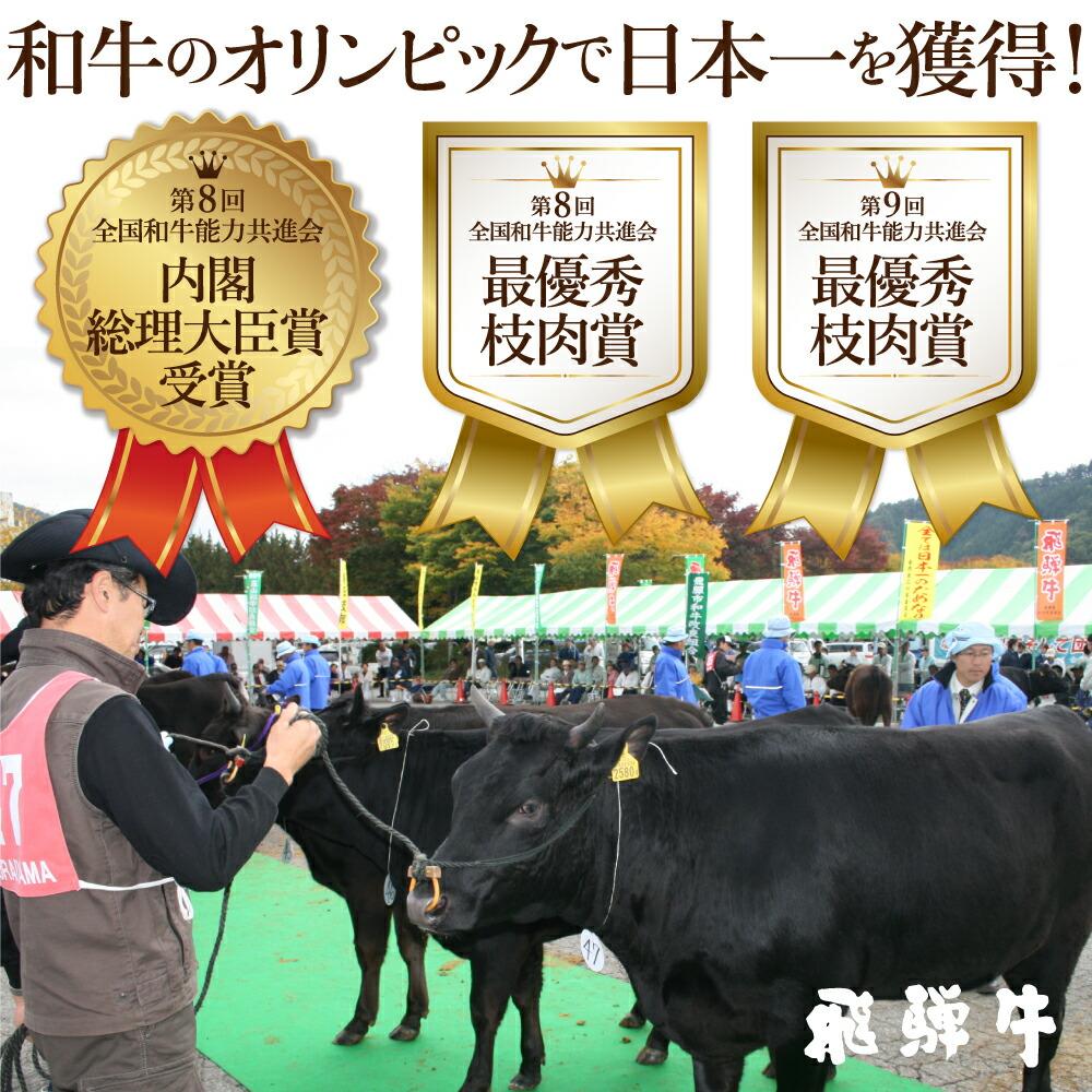 飛騨牛の受賞歴