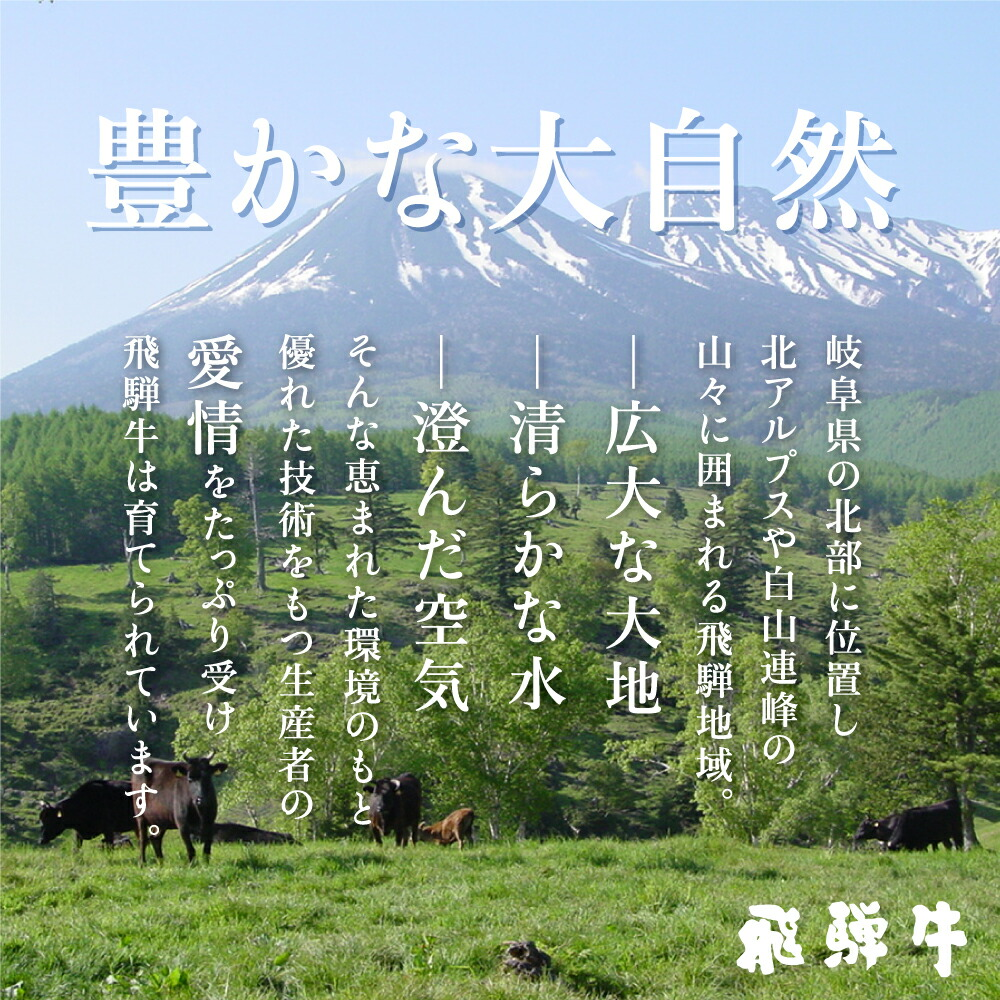 飛騨牛の大自然