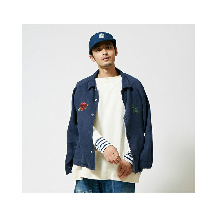 "GOHEMP】ゴーヘンプ GHJ5046HHR""OKAME COACH JACKET /HEMP HERRINGBONE ..."