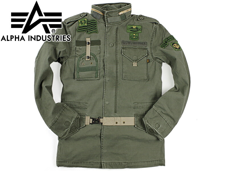 uk availability a23a0 95d3b Alpha industry ALPHA 50TH ANNIVERSARY M-65 field jacket olive (INDUSTRIES  of the 50th anniversary of M65)