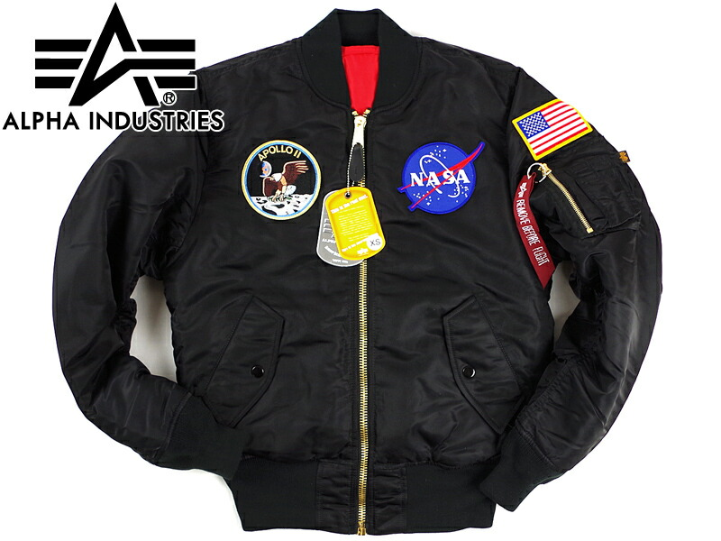 timeless design 87dd0 4cc51 Alpha industry ALPHA Apollo MA-1 flight jacket (APOLLO MA1 INDUSTRIES  FAIR35)