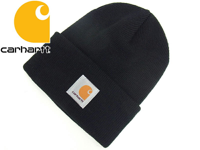 Jalana  Carhartt Carhartt A18 acrylic knit Cap Black (ACRILIC WATCH ... 3c62d72c3586
