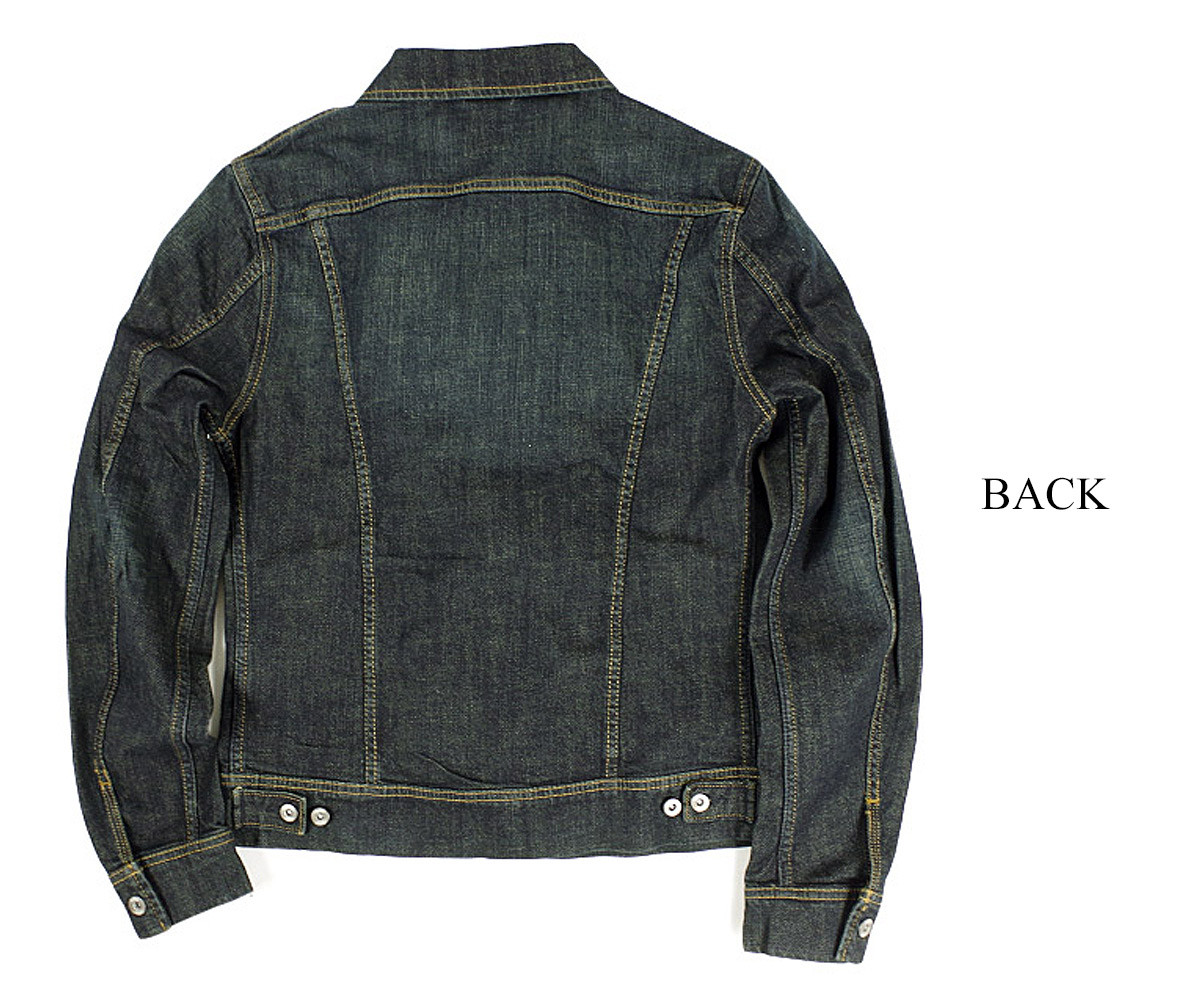 Level 99 Indigo Stripe Denim Jacket New with Tags